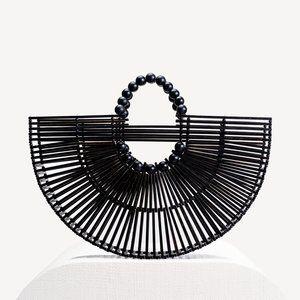 cult gaia - Fan Ark Bag in Black - NWT